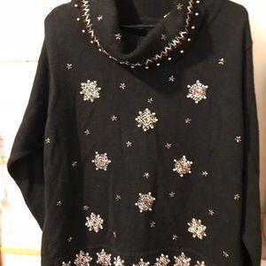 Sweaters - Beautiful embellished holiday sweater
